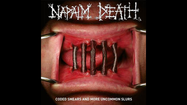 Napalm Death 新アルバム「Coded Smears and More Uncommon Slurs」3月リリース