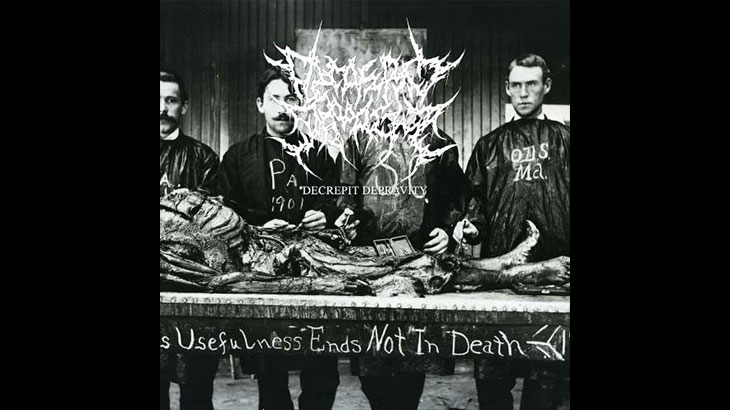 Decrepit Depravity アルバム「Usefulness Ends Not in Death」公開