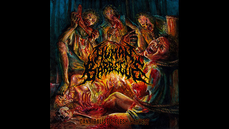Human Barbecue 新アルバム「Cannibalistic Flesh Harvest」4月リリース