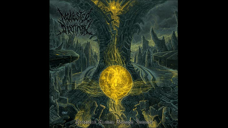 Molested Divinity アルバム「Desolated Realms Through Iniquity」リリース