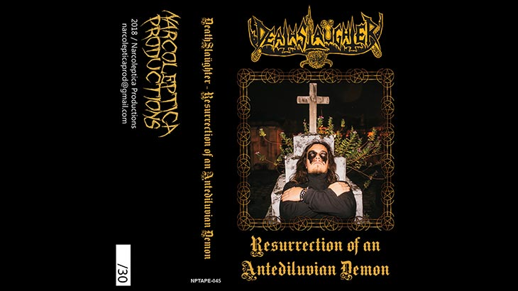 DeathSlaüghter – EP「Resurrection Of An Antediluvian Demon 」4月リリース