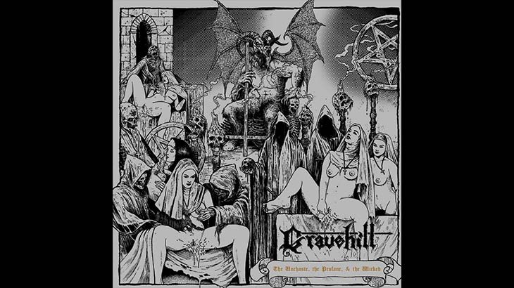 Gravehill アルバム「The Unchaste, the Profane, & the Wicked」リリース