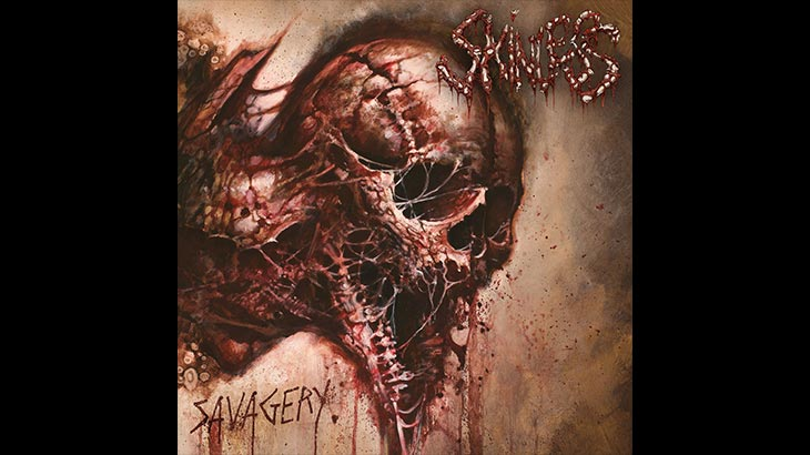 Skinless 新アルバム「Savagery」5月リリース
