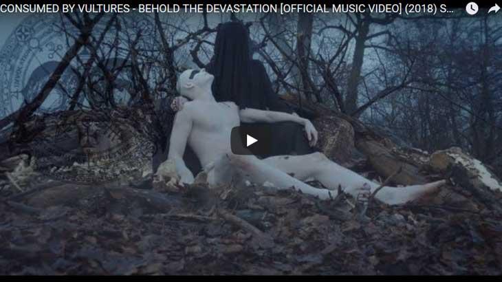 Consumed by Vultures ミュージックビデオ「Behold the Devastation 」公開