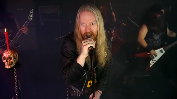 Gravehill ミュージックビデオ「Iron & Sulphur 」公開