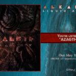 Alkaloid 新アルバム「Liquid Anatomy」5月リリース