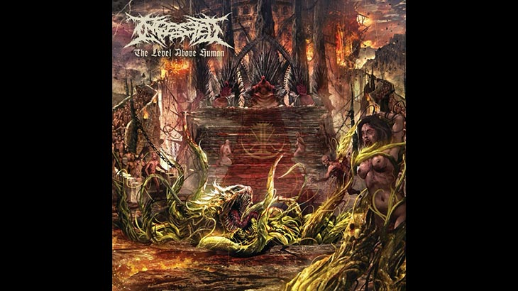 Ingested 新アルバム「The Level Above Human」4月リリース