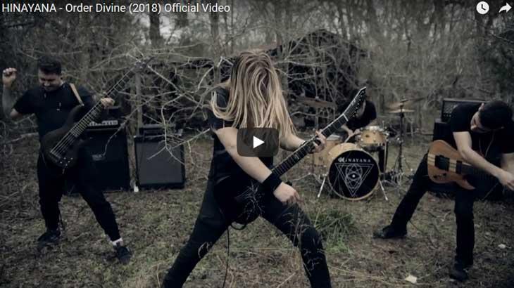 Hinayana ミュージックビデオ「Order Divine」公開