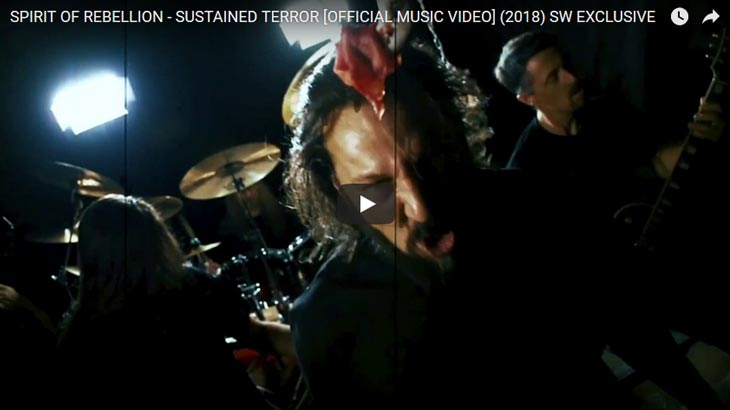 Spirit of Rebellion ミュージックビデオ「Sustained Terror」公開