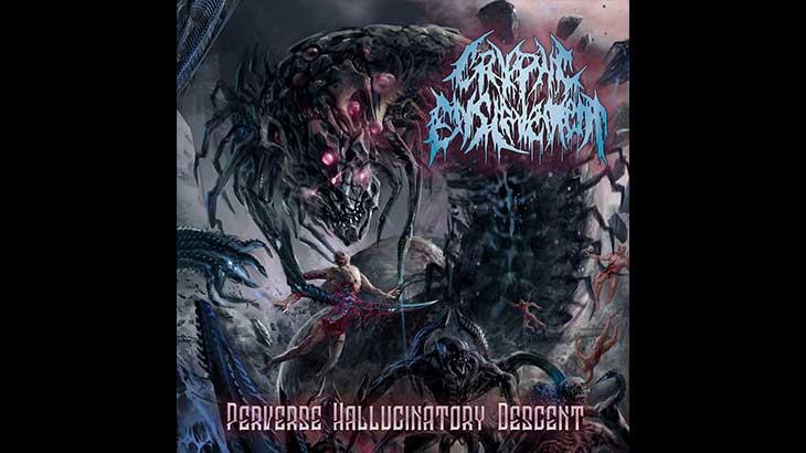 Cryptic Enslavement アルバム「Perverse Hallucinatory Descent」リリース