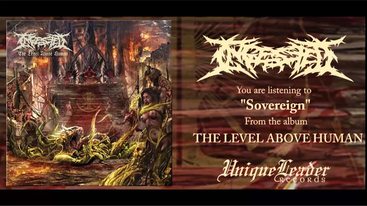 Ingested 新アルバム「The Level Above Human」フルストリーム公開