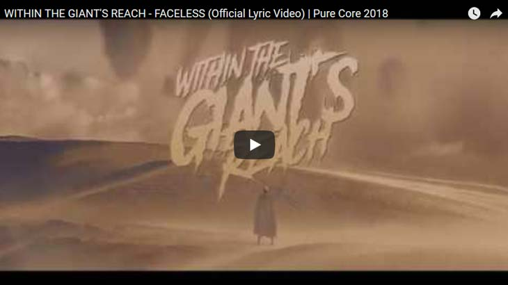Within The Giant's Reach リリックビデオ「Within The Giant's Reach」公開