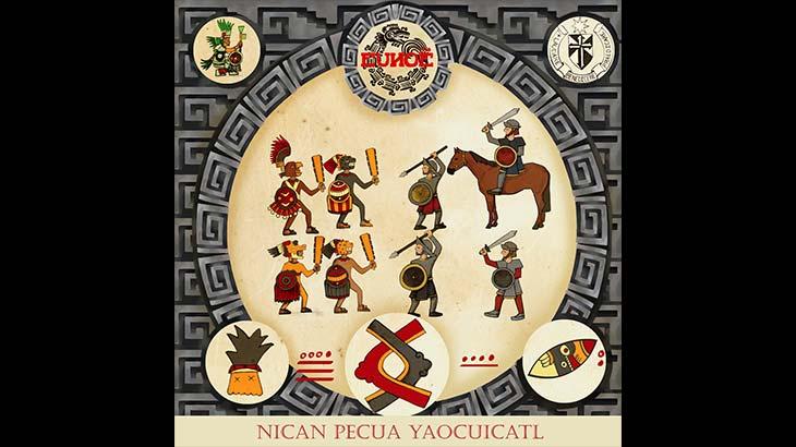 Eunoë デビューEP「Nican Pecua Yaocuicatl」6月リリース