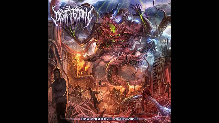 Dysmorfectomy アルバム「Disembodied Anomalies」リリース