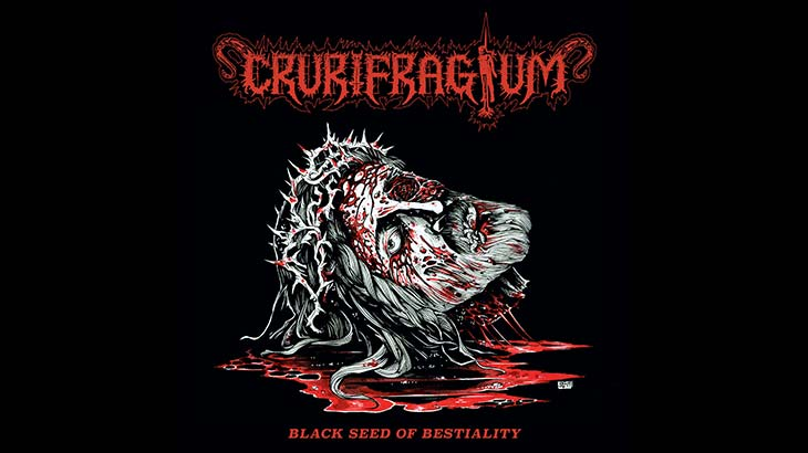 Crurifragium アルバム「Black Seed of Bestiality」リリース