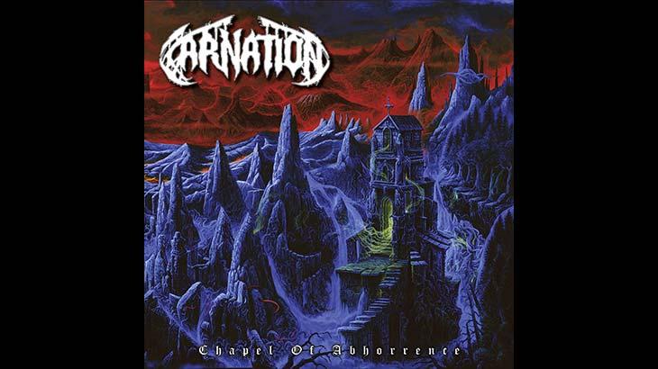 Carnation 新アルバム「Chapel of Abhorrence」8月リリース
